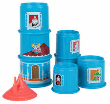Moomin House Stacking Cups Plastic