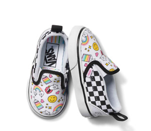 VANS X FLOUR SHOP TODDLER SLIP-ON V New in Box VN0A34882NI