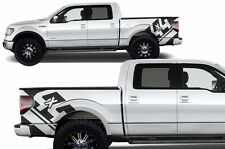 Custom Graphics Vinyl Decal 4X4 Wrap Kit for Ford Truck F-150 09-14 Truck BLACK