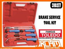 TOLEDO 310277 - BRAKE SERVICE TOOL KIT - REMOVAL INSTALL SERVICE REPAIRS DRUM