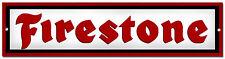FIRESTONE TYRES METAL SIGN,RETRO,GARAGE METAL SIGN,WORKSHOP SIGN.