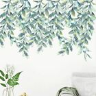 Wall Sticker Removable Green Leaf Plant Decal Eco Friendly Mural Home Decoration