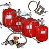 Aquasystem Heating Expansion Vessel 8 12 18 24 35 Ltr & Sealed System Kit/Brckt