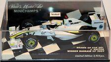 MINICHAMPS 1:43 BRAWN BGP 001 J.BUTTON WINNER BAHRAIN GP 2009 400 090322