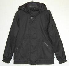 Burton Dryride Black Hooded Ski Snowboard Winter Coat Jacket Size M