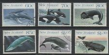 New Zealand & Ross Dependency 1988 Whales fine used set stamps