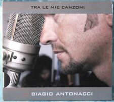 BIAGIO ANTONACCI - TRA LE MIE CANZONI - 1 CD n.6034 DIGIPACK