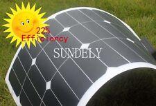 18V 20W semi-flexible monocrystalline silicon solar cell photovoltaic panels New