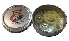 Captain O-Ring Deluxe 20pc POLYURETHANE Save-A-Dive O-Ring Kit for Scuba Diving