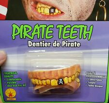 Brand New Pirate Teeth Rubies 1427 Fake