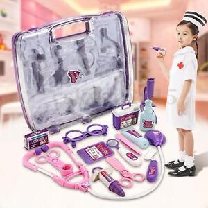 Kids Pretending Doctor's Hospital ing Toy Set Case Education Kit Role   i i