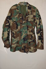 Mens Cold Weather FIELD WOODLAND CAMOUFLAGE Coat/Jacket MEDIUM LONG EXCELLENT #2