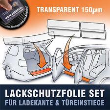 Lackschutzfolie SET (Ladekante Einstiege) passend  Seat Alhambra II  transparent