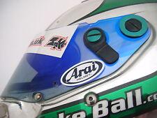 Small ARAI Visor Stickers - 4 x Printed & Laminated - Karting - Motorcycling