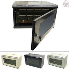 6U per installazione in muro Armadietto dati in rete per Rack Pannello Patch & PDU Comms PDU Patch Panel