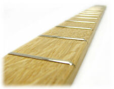 Cigar Box Guitar Fretboard: Qtrsawn White Oak Fully Fretted - USA-made! 37-03-01