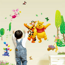 Winnie The Pooh Wall Stickers Nursery kids baby Room Art Wall Decals pvc Decor