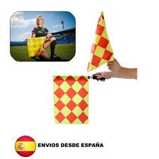 Banderines de arbitro banderas entrenamiento futbol rugby deportes