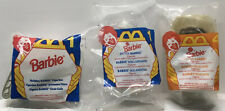 McDonalds Happy Meal Toys Barbie 1995, Dutch, Mexican, Holiday, NIP