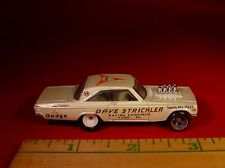 100% HOT WHEELS DAVE STRICKLER'S '65 DODGE CORONET A/FX CLASS NHRA DRAGSTER RARE