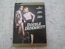 Double Indemnity Dvd Set, 2 Disc, Universal Legacy Series, Great Condition