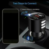 Bluetooth 2.0 Car USB Charger FM Transmitter Wireless Radio Adapter MP3 Player