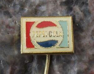 Vintage Pepsi Cola Soft Fizzy Carbonated Drink Coke Motif Logo Emblem Pin Badge