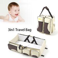 3 in 1 Konvertierbare Wickeltasche Stubenwagen Baby Bett Winde Reisetasche DHL