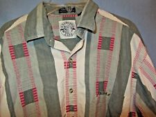 Gant Salty Dog Long Sleeve button front shirt sz Medium 100% cotton