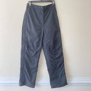 LL Bean Rain Pants/ Ski Pants/ Hard Shell Full Zip Polyester Winter Women S
