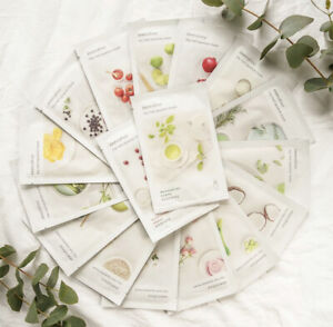 Korean Quality Skincare innisfree My Real Squeeze moisturizing Mask X 10 sheets
