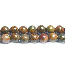 Opal Round Beads 6mm Brown/Green 70+ Pcs Gemstones DIY Jewellery Making Crafts