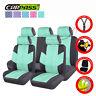 Universal Car Seat Covers Linen Airbag Split Rear For Truck SUV Sedan VAN 11 PCS