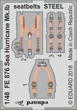 Eduard 1/48 Hawker Mar Huracán Mk. ib cinturones de seguridad acero # FE876