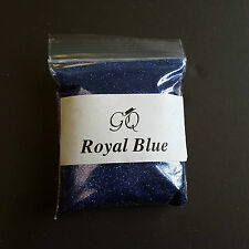 Disco Silver - 5g Pot NSI Acrylic Powder Glitter Mix Nail Art Pre-mixed Royal Blue