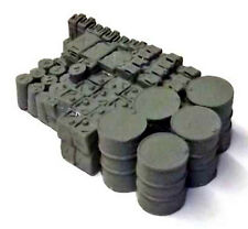 Milicast 1/76 Mixed Load of Drums and Cans for British 3-ton GS Trucks ACC096