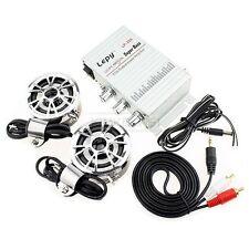 Mini Hi-Fi Stereo Amplifier Amp mp3 iPod Motorcycle 12V