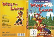 Wolf+Lampi / 2 Zeichentrickfilm DVD Box / NEU / DVD ##
