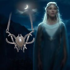 Lord Of The Rings LOTR The Hobbit Galadriel Royal Elven Elf Necklace