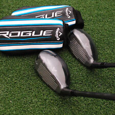 Callaway Golf Rogue X Hybrid 2pc SET 7h&8h Synergy 60 Graphite Light Senior NEW