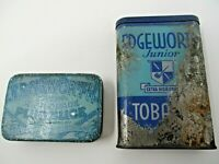 Vintage Edgeworth Extra High Grade Tobacco Tins