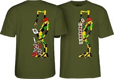 Powell Peralta Ray Barbee Rag Doll Skateboard T Shirt Military Green Xxl