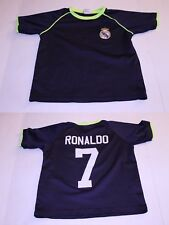 Youth Real Madrid Cristiano Ronaldo S Soccer Futbol Jersey (Navy Blue) Jersey