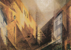 Doppelkarte: Lyonel Feininger - Nachmittagslicht II