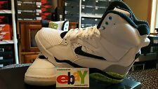 Nike Air Command Force Pump 8/13/2014 WHITE/BLACK-WOLF GREY-VOLT 684715 100 2017