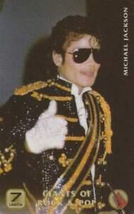 Telefoonkaart / Phonecard ongebruikt prepaid - Michael Jackson (R71)