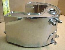Shortened Oil Tank fits Harley Knucklehead ~ Pan ~ Rigid ~ Racer - Chrome