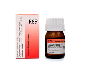 Dr. Reckeweg R89  Lipocol Drop 30 ml For Control Hair Loss # 10 DAYS UK SHIP