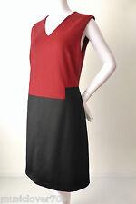 RAOUL Sleeveless Wool Shift  Dress Size 38 AU 10 -12 US 6 - 8 rrp $650.00