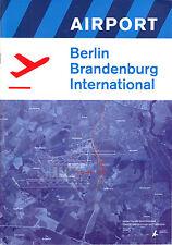 Werbebroschüre Airport Berlin Brandenburg International, um 2000